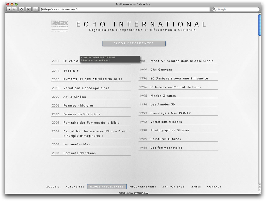 Echo international