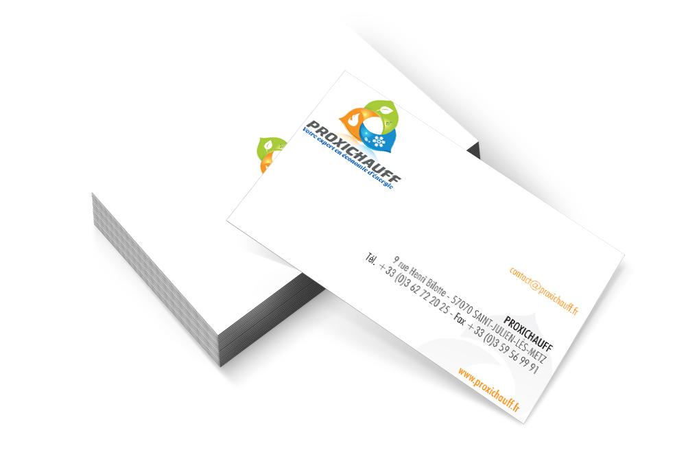 Proxichauff - Cartes de visite